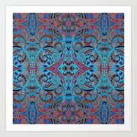 Ethnic Style G257 Art Print
