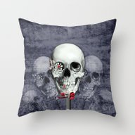 Throw Pillow featuring Sweet Americana  by Kristy Patterson Des…