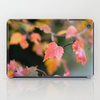 Autumn Red iPad Case