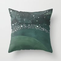 Galaxy No. 3 Throw Pillow