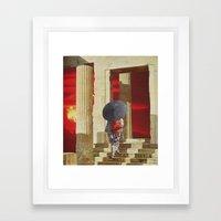 collage 11 Framed Art Print