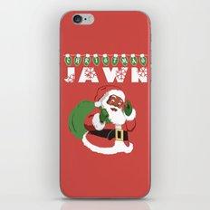 Christmas Jawn iPhone & iPod Skin