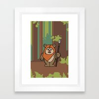 EP6 : Wicket Framed Art Print