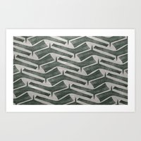 War Club Art Print