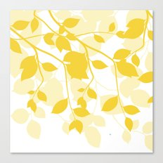Spring Leaves Canvas Print