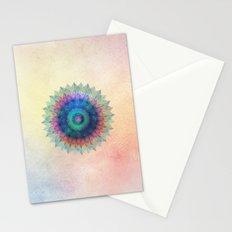 Leaf Mandala Stationery Cards
