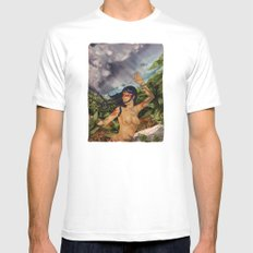 Taino girl White Mens Fitted Tee SMALL