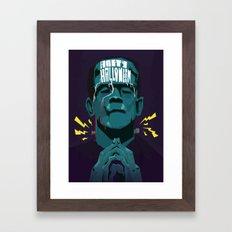 Halloween '13 Frankie Framed Art Print