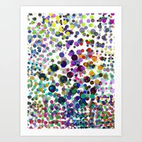 Art Print featuring DOTS by Pinar Demirkiran