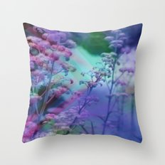 FlORAL FOREST Throw Pillow