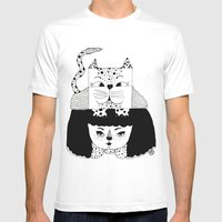 Mew Mens Fitted Tee White SMALL