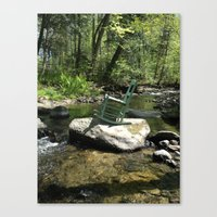Chair III Canvas Print