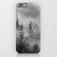 Misty Forest. BW iPhone 6 Slim Case