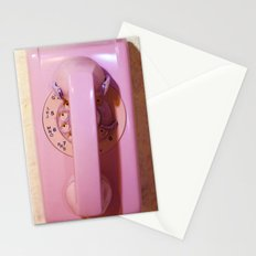 Pink Phone Stationery Cards