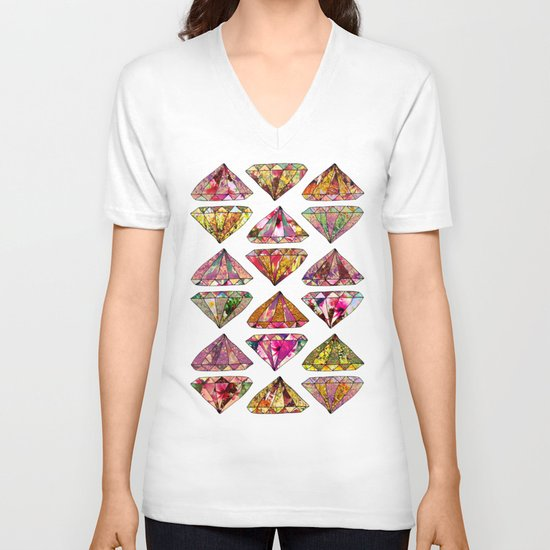 These Diamonds Are Forever V-neck T-shirt