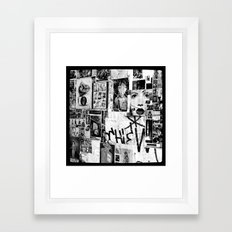 :: STREET ART //PART III - HAMBURG Framed Art Print