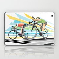 Illustration Graphic Design: Finish Line Laptop & iPad Skin