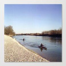 Ticino River Canvas Print
