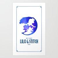 Lilo & Stitch Art Print
