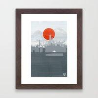 Avatar - Air Book Framed Art Print