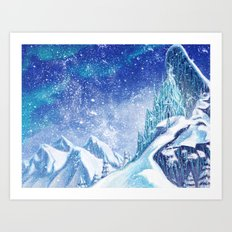 ~Frozen .:A Kingdom of Isolation:. Art Print