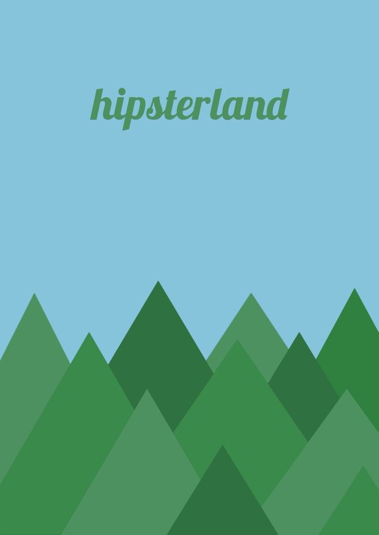 Hipsterland Canvas Print