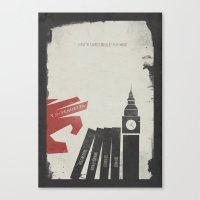 V for Vendetta, Alternative Movie Poster Canvas Print