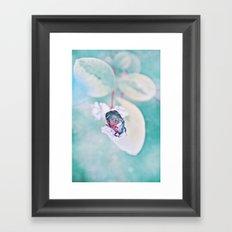 SPRING BEETLE Framed Art Print