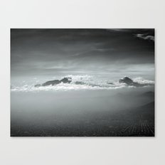 Over Mexico Mountains Canvas Print