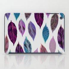 Pink Leaves 2 iPad Case