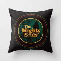 The Mighty Souls: Reggae… Throw Pillow