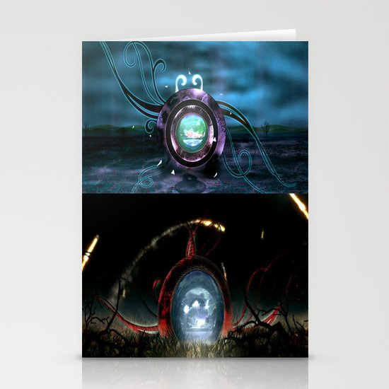 Beginning VS the End Stationery Card