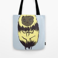 Bee Girl Tote Bag