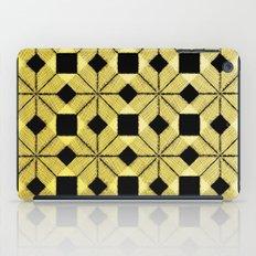 Golden Snow iPad Case