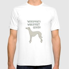 Whippet! Whippet Good!  Mens Fitted Tee White SMALL