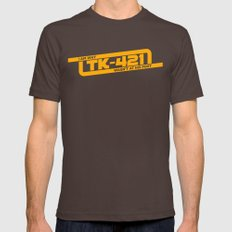 TK-421 Mens Fitted Tee Brown SMALL