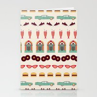 Meet Me At The Diner Stationery Cards