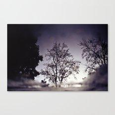 Puddletree Canvas Print