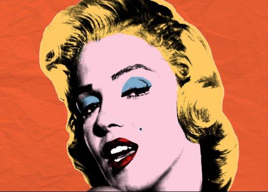 my night with Marilyn Art Print