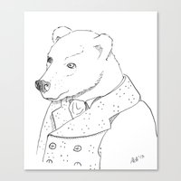 Boris Canvas Print