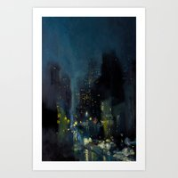 Avenue B Art Print