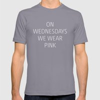 Mean Girls #8 – Pink Mens Fitted Tee Slate SMALL