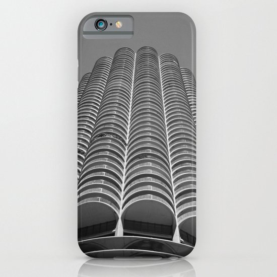 Marina City Tower Photo, Chicago, Architecture iPhone & iPod Case