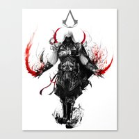 Assassin's Creed Ezio Canvas Print
