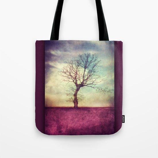 ATMOSPHERIC TREE Tote Bag
