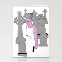 Born To Die Stationery Cards