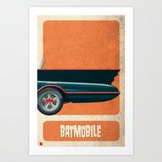 Batmobile 66 part III of III Art Print