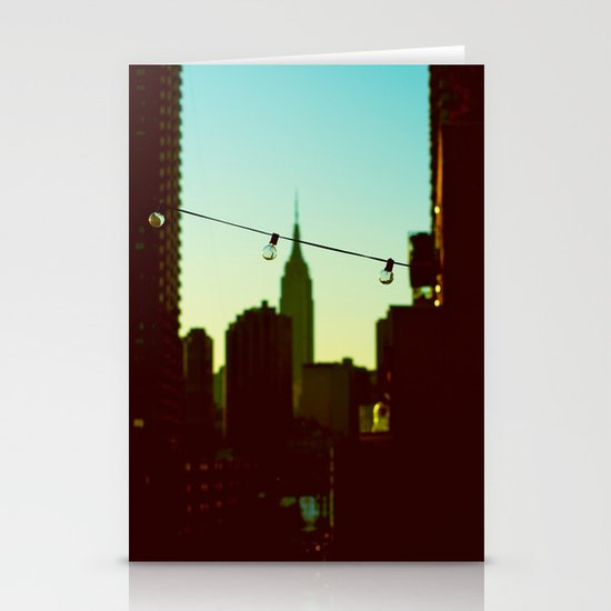 A View Of Bliss Stationery Card