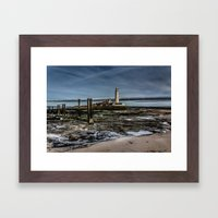 Across the Beach Framed Art Print