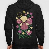 Floral Flower Artprint Hoody